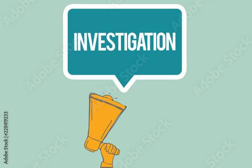 inquiry vs investigation