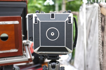 vintage large format cameras