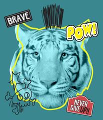 Tiger photo for t shirt printing, Graphic t shirt & Printed t shirt