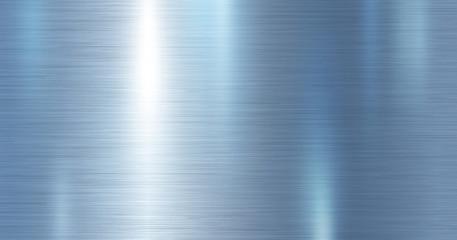 Blue metallic metal texture background vector illustration