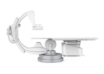 C Arm X-Ray Machine Scanner Isolated