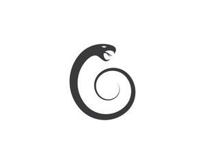 Snake logo illustration
