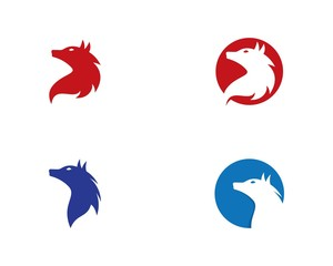Wolf logo illustration