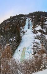 Wall Mural - Waterfall Stuibenfall at Umhausen - Tirol Austria