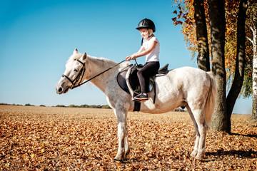 reiten mit pony