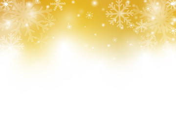 Chritmas holiday celebration theme colorful gredient abstract background with snow flake winter season.