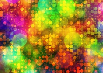 colorful holiday abstract bokeh backgrounds
