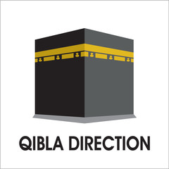 quibla dirrection sign