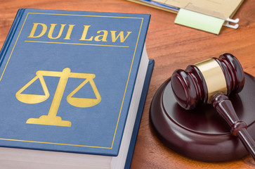 A law book with a gavel - DUI Law
