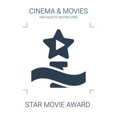 star movie award icon