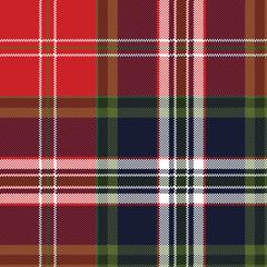 Pixel seamless pattern check fabric texture