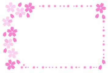 イラスト 桜のフレーム