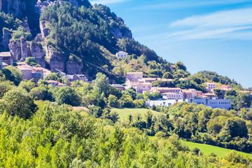 Roquefort-sur-Soulzon, Aveyron, Occitanie, France,