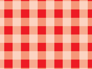 PrintDiagonal tablecloth pattern.Red and white texture for : plaid, tablecloths, clothes, shirts, dresses, bedding, blankets, quilts and other textile products. Vector illustration.