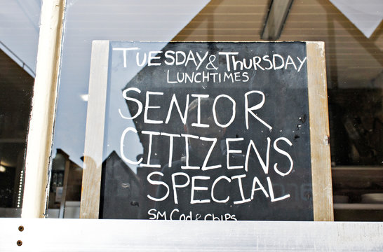 Senior citizens' offer