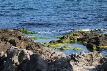 sea and rocks in Black sea