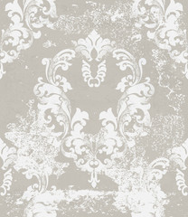 Luxury ornamented pattern Vector. Royal luxury texture floral decor. Floral decoration intricated details. Pastel colors