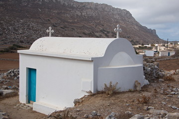 Church at Awlona on Karpathos in Greece
