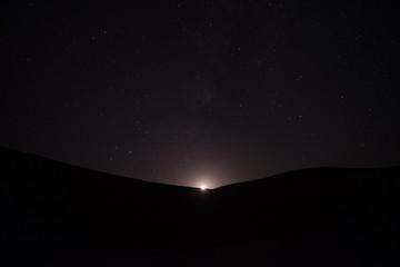 Bereber Camp in the Desert of Sahara, Morroco.
