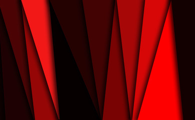 red background with lines and stripes