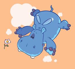 Flying Blue Elephant