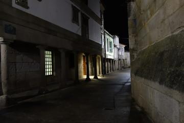 Coruña de noche