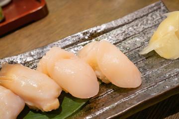 にぎり寿司 ホタテ