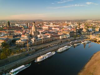 Panorama der Elbe,