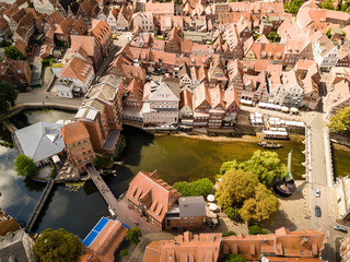 Blick zum Stintmarkt in Lüneburg