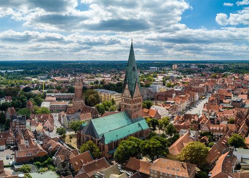 Die  St. Johanniskirche in Lüneburg