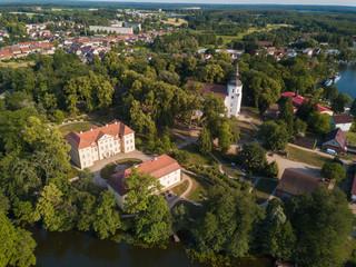 Schloss Mirow mit Kirche