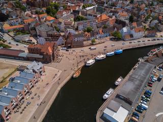 Der Stadthafen Wismar