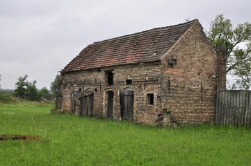 Verlassene Bauernhütte in Brandenburg
