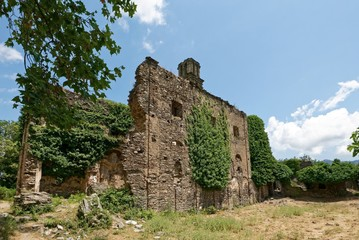Frankreich - Korsika - Couvent d' Orezzo Ruine