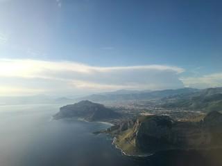 Palermo dall'aereo