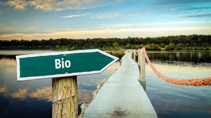 Schild 381 - Bio