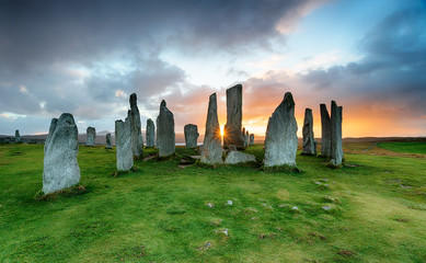 Wall Mural - The Callanish Stones on the Isle of Lewis