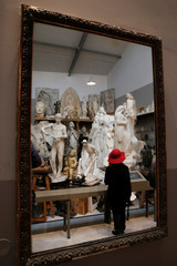 General view of the art gallery La Piscine de Roubaix, is seen during a press visit two days before the reopening of the museum after an 18-month expansion and renovation program, in Roubaix,
