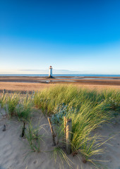 Wall Mural - Point of Ayr Lighthouse at Talac