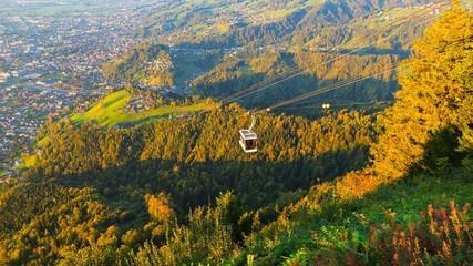 Seilbahn am Karren Vorarlberg