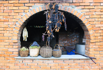 brick building for making wine