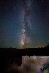 Night Sky Horizon at Bryce Canyon