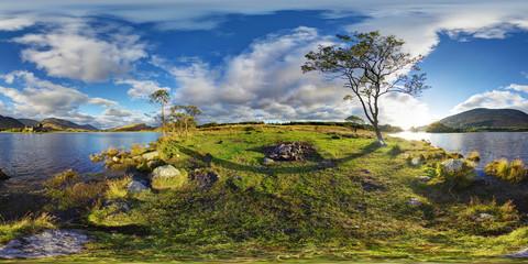 Kilchurn Castle, Loch Awe, Scotland, Argyll And Bute, United Kingdom