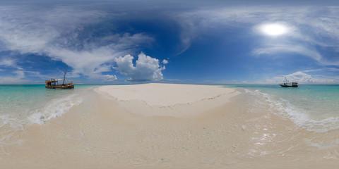 Sandbar Near Mange Reef And Mafia Island, Mafia, Tanzania