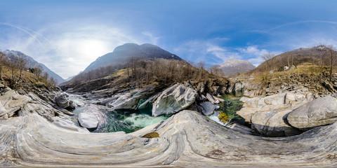 Verzasca Valley, Lavertezzo, Switzerland