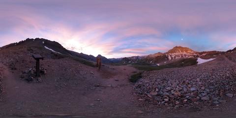 Blue Lakes Pass Trailhead, San Juan Mountains, Colorado, Ouray County, United States