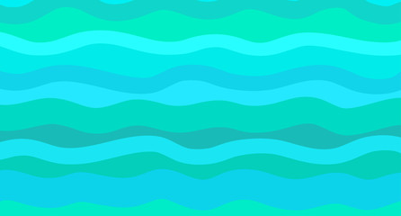Nautical geometric wallpaper of the surface. Cute sea background. Bright colors. Pattern with lines and waves. Multicolored texture. Decorative style. Dinamic texture. Doodle for design and business