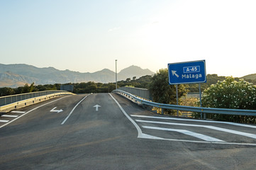 A-45, Antequera, Andalusia, Spain