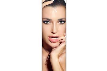 Beautiful woman makeup and skin care concept