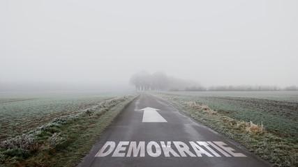 Schild 402 - Demokratie